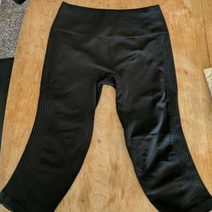 Lululemon concrete gray thick leggings